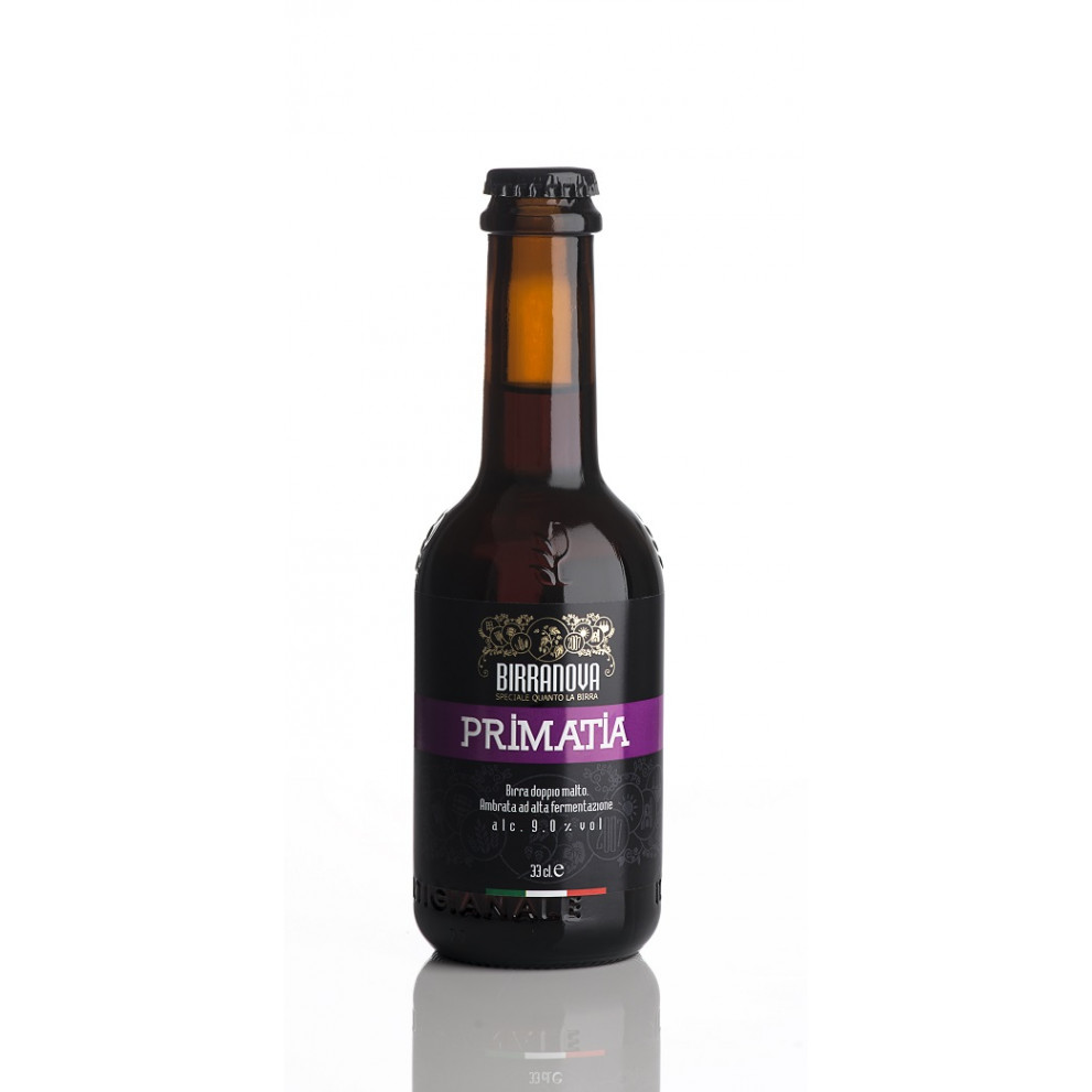 Birra artigianale ambrata Primatìa