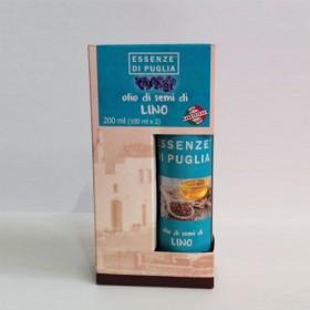 Olio di Semi di Lino 2 bottiglie x 100 ml