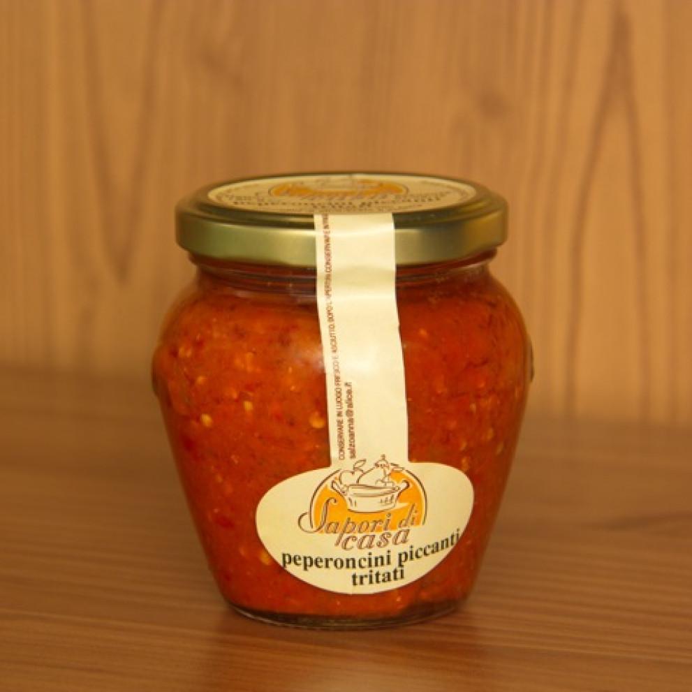 Patè di peperoni piccanti 180 Gr