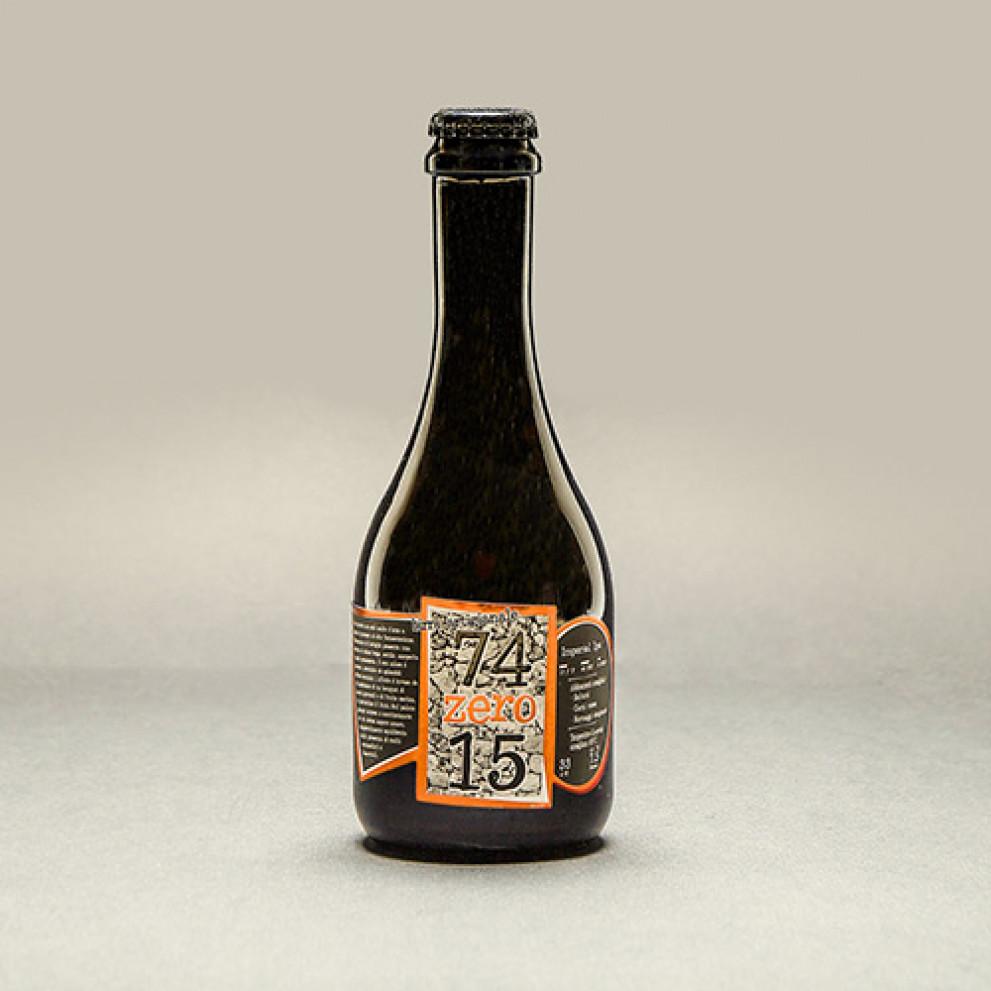 Birra artigianale ambrata Imperial IPA