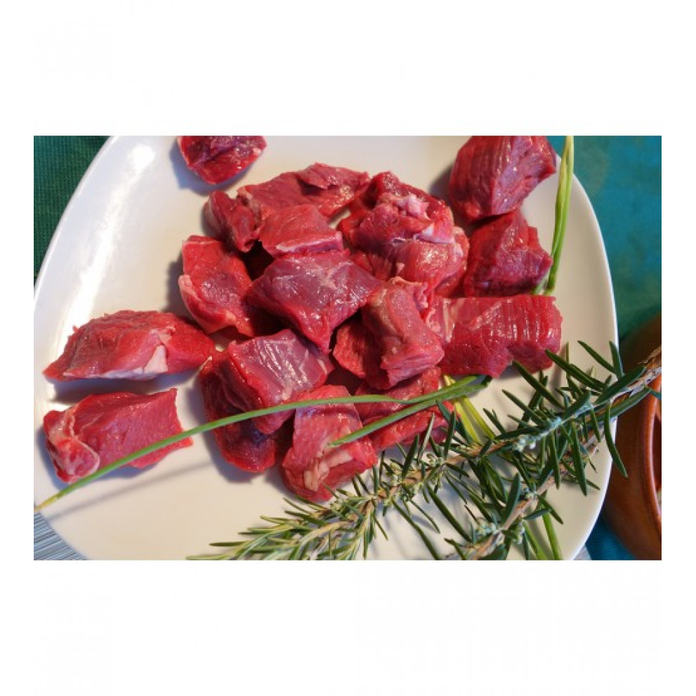 Spezzatino di carne bovina senza osso 400 gr