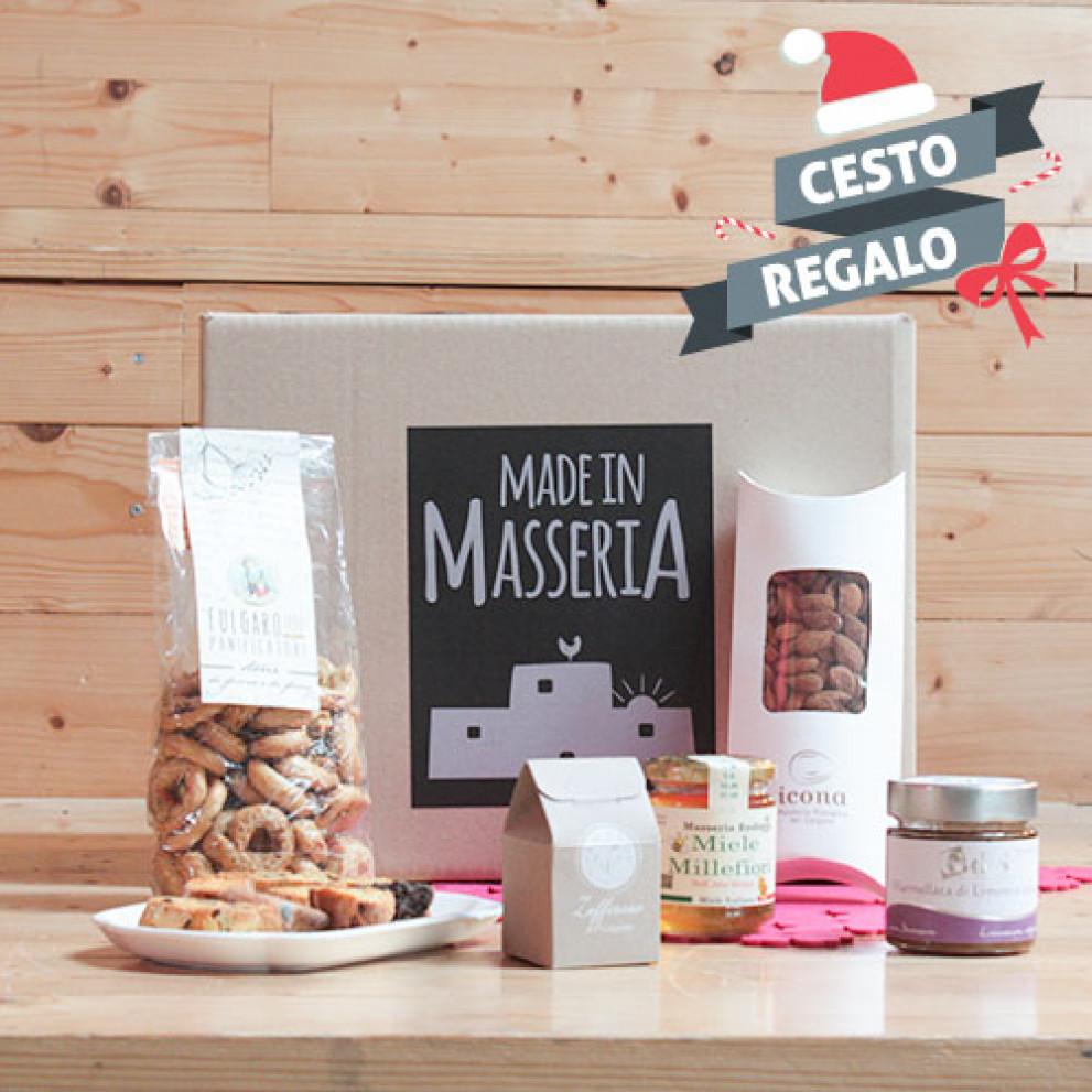 Box Regalo Natalizio Di Imperdibili Dolcezze Pugliesi Made In Masseria