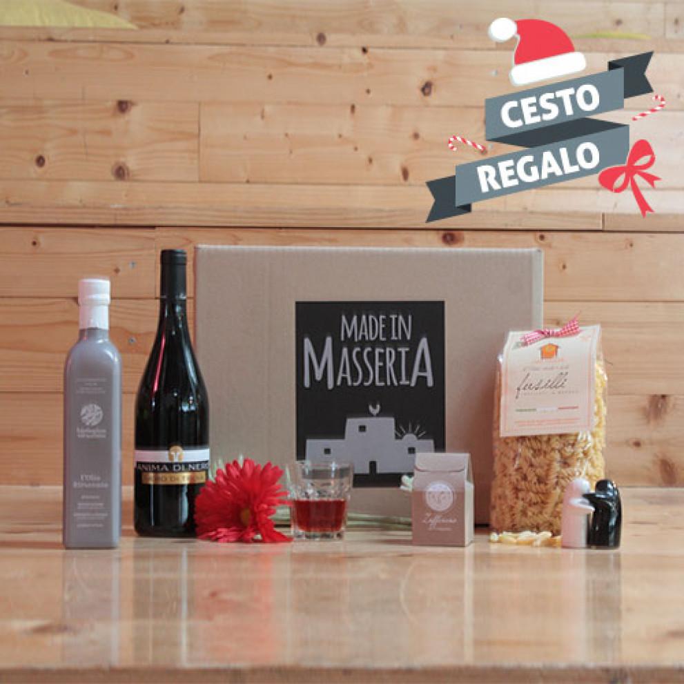 Box regalo natalizio Pranzo della nonna | Made in Masseria
