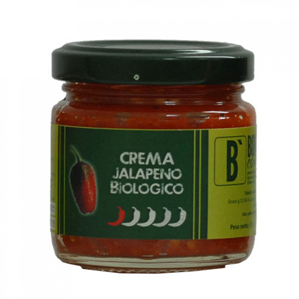 Crema di Jalapeño biologica