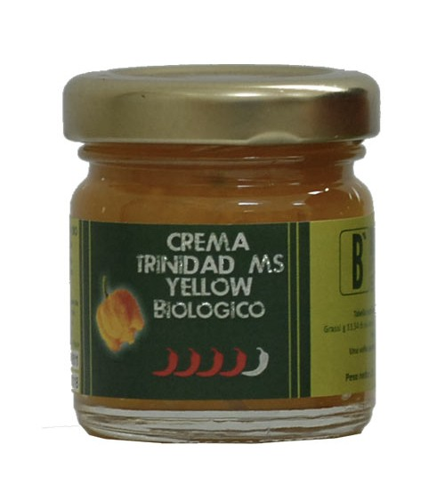 Crema di Trinitad Moruga Scoprion Yellow bio