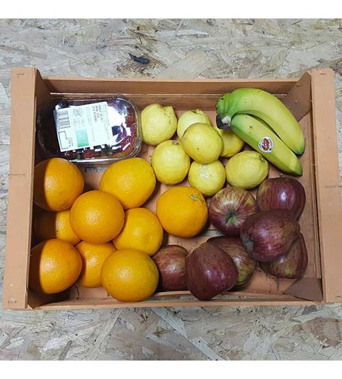 Cesta di frutta fresca online biologica made in masseria for Frutta online