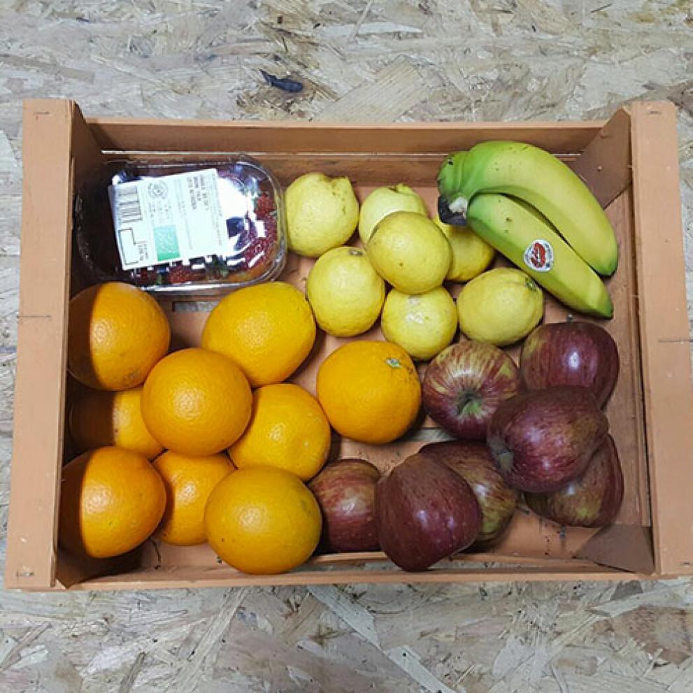 Cesto di frutta fresca BIO