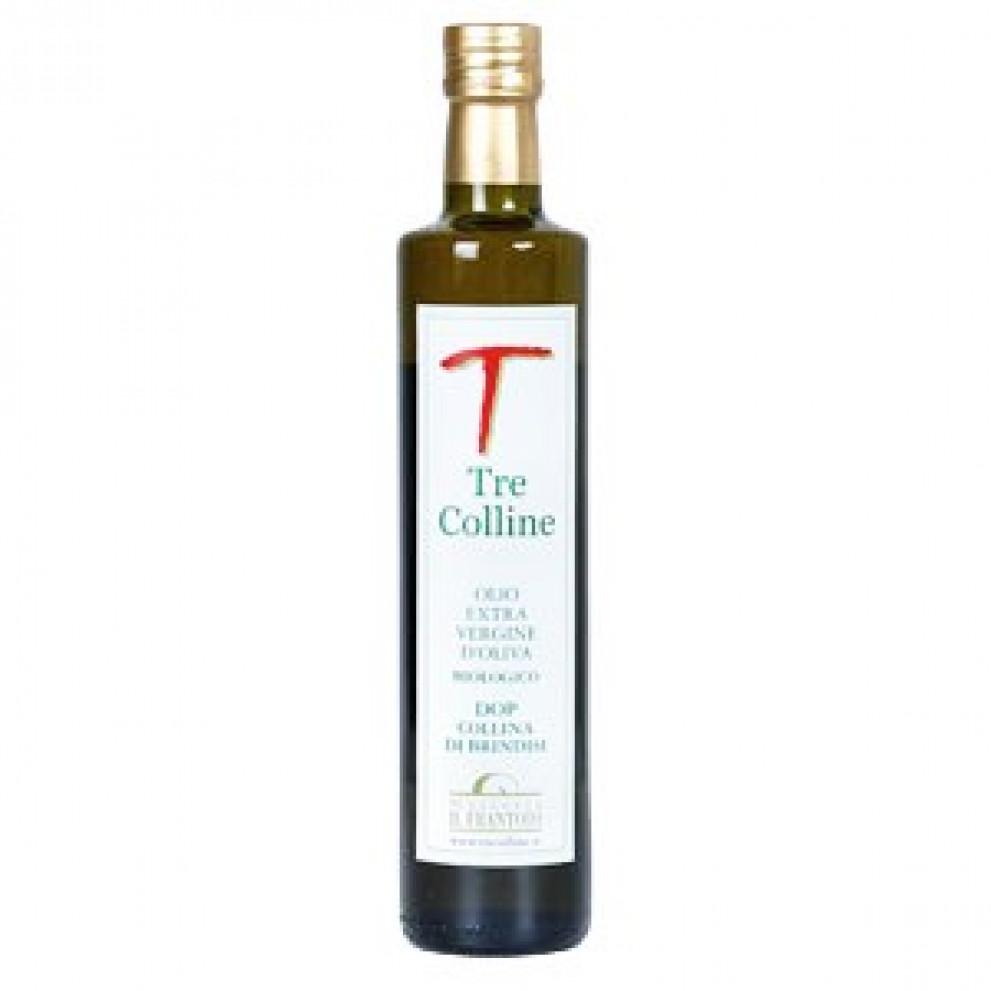 Olio Tre Colline EVO Bio DOP Extra Vergine d'Oliva Bio