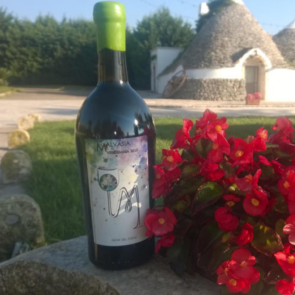 Vino Malvasia Bianca Gioia del Colle 75 cl