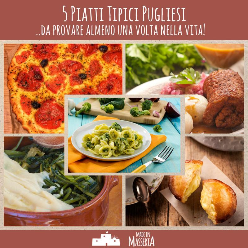 5 piatti tipici pugliesi da provare